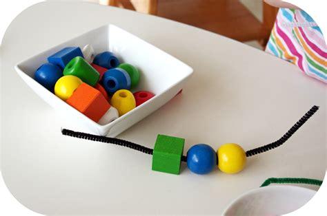 beading string simply montessori montessori materials for one dollar