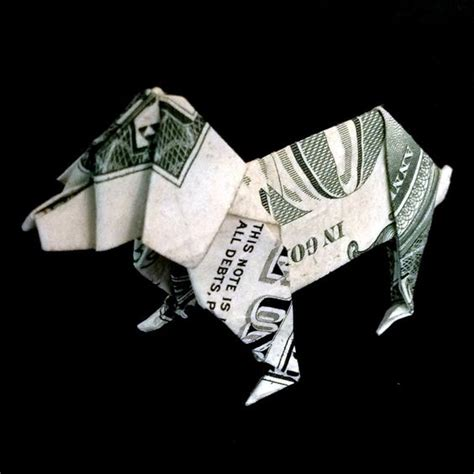 origami out of a dollar gift money origami made out of real one dollar