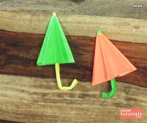 how to make an origami umbrella how to make a paper umbrella origami step by step