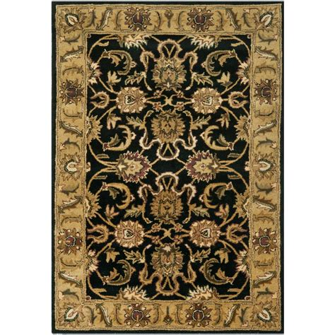 4 ft area rugs safavieh bohemian black gold 4 ft x 6 ft area rug