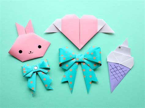 Kawaii Origami Tutorials Kao Ani