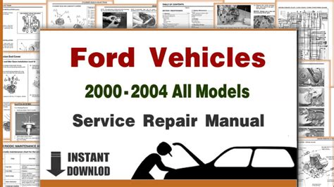 free service manuals online 2002 ford expedition user handbook download ford lincoln all models service repair manuals 2000 2004 pdf youtube