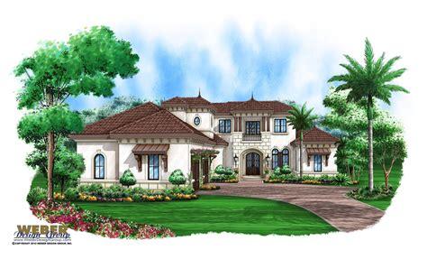 mediterranean style home plans house plan luxury mediterranean coastal home floor plan