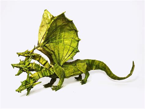 three headed origami 26 non traditional but still awesome origami dragons