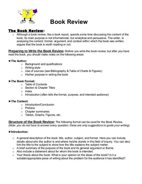 picture book format book review format 1