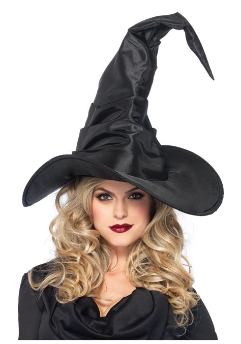 for a witch large ruched witch hat