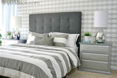 how to make headboard for bed diy upholstered headboard with a high end look