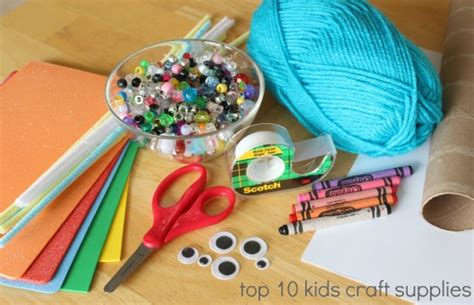 kid craft supplies snow and days quiver of blessings
