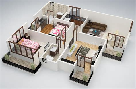 three bedroom house interior designs 25 three bedroom house apartment floor plans