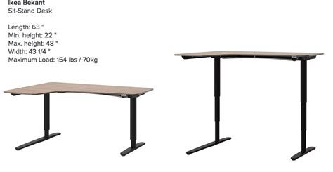 standing ikea desk sit to stand desk ikea home furniture design