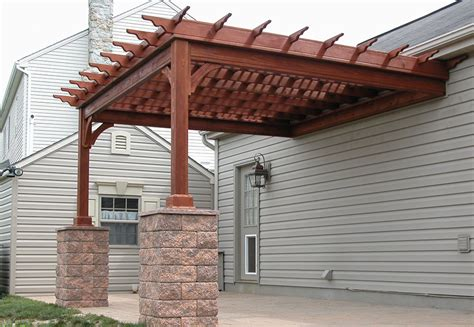 how to build a pergola attached to house pergola plans attached to house smalltowndjs