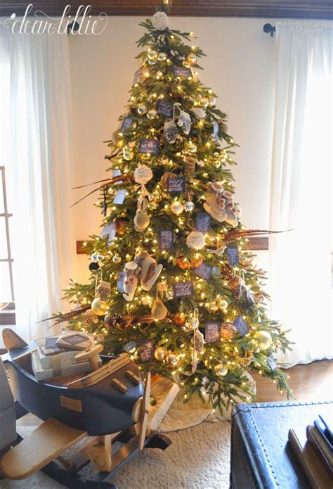 gold and brown tree decorations brown and gold themed tree tree decorating ideas