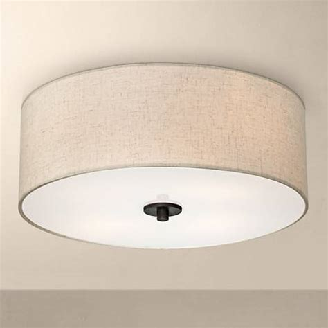 white ceiling light fixture bronze with white shade 18 quot wide ceiling light fixture