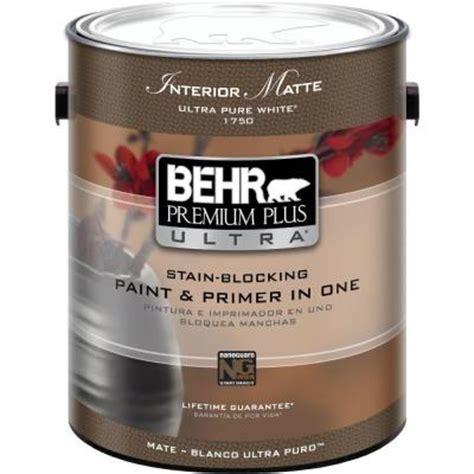 behr paint colors interior with primer behr premium plus ultra 1 gal ultra white matte