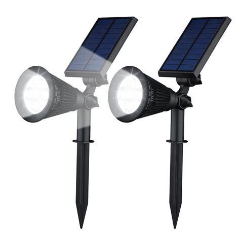 solar led lights for homes geeek solar garden lights led spotlight 2 pieces