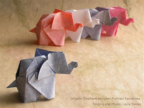 how to make a elephant origami origami instructuons how to color skin paper for