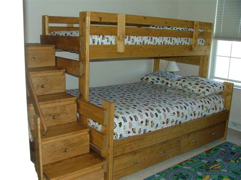 build bunk bed stairs building bunk beds with stairs woodworking projects
