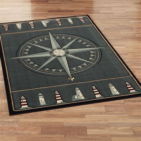 nautical rugs compass nautical area rugs