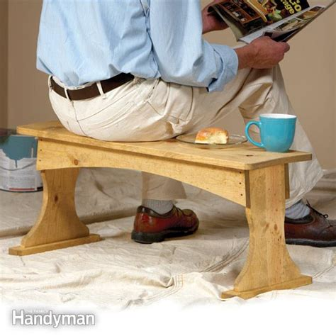 family woodworking build a painting bench the family handyman
