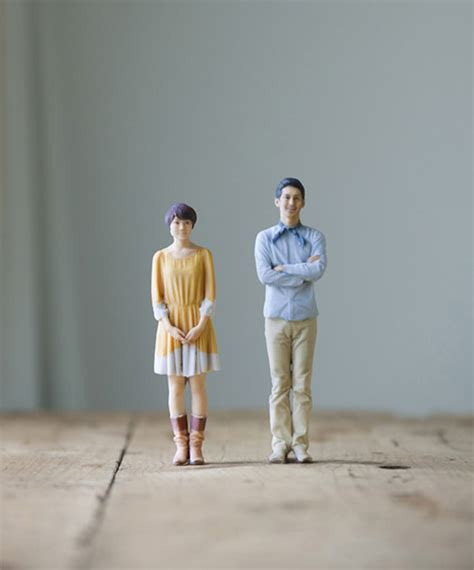 model miniatures omote 3d photo booth churns out miniature models of