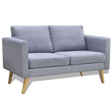 wide sofa wide 2 seater polyester fabric sofa in light grey buy sofas