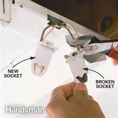 how to fix a light how to replace a fluorescent light bulb the family handyman