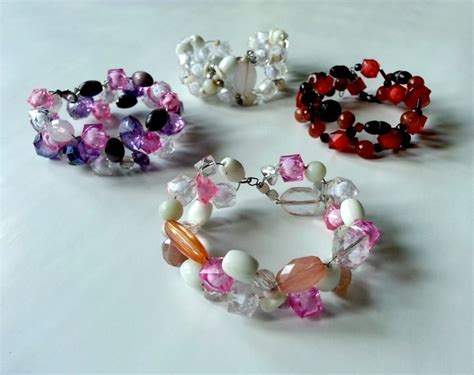 how to make a beaded bracelet with wire wire beaded bracelet 183 how to make a wire bracelet