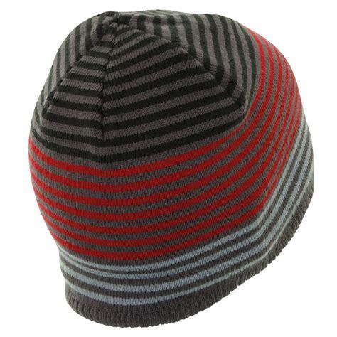 knit beanie mens callaway golf mens stripe knit beanie winter wooly hat ebay