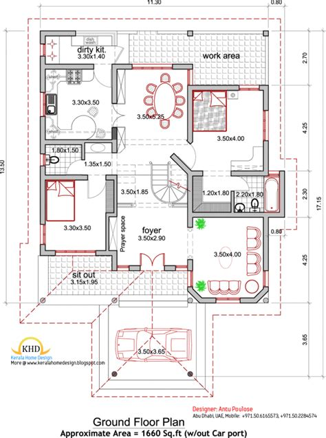 architects home plans general best 29 pictures kerala architectural house