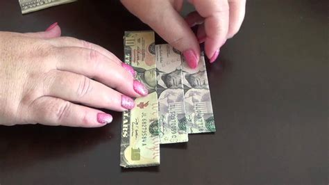 how to make money origami how to make an easy to fold money origami cake