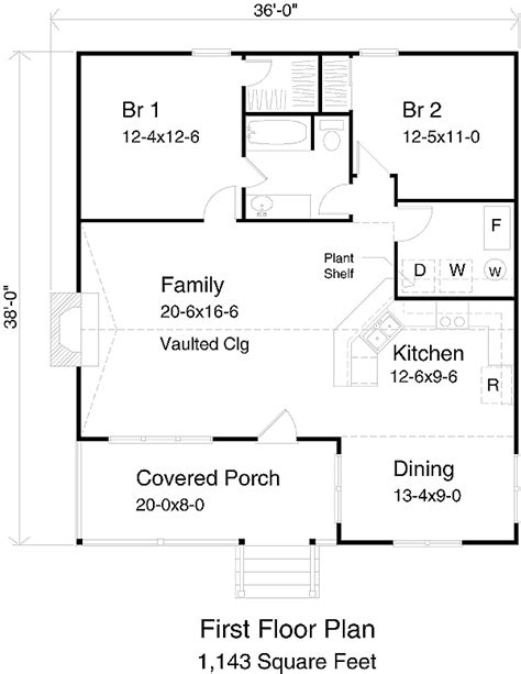750 square foot house plans cabin style house plan 2 beds 1 baths 1143 sq ft plan