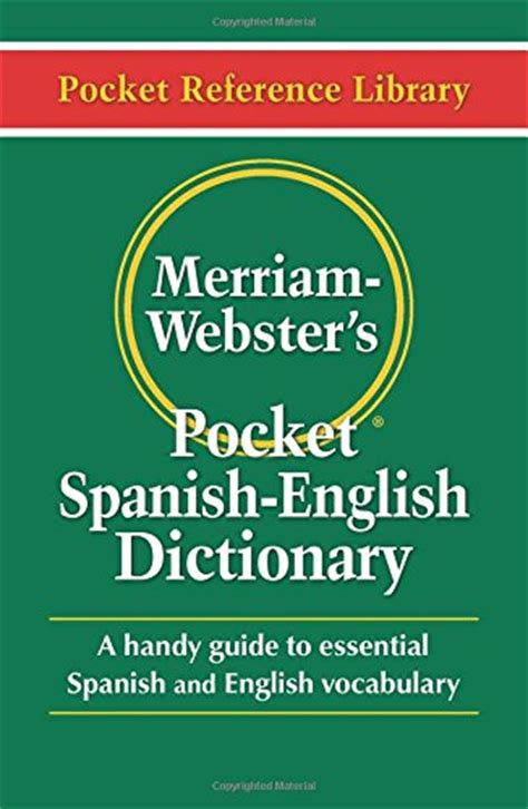 merriam webster s pocket dictionary paperback pocket reference library and edition ecuador guide hubpages