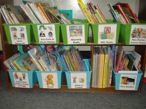 picture book bins hugs and ladybugs my classroom library