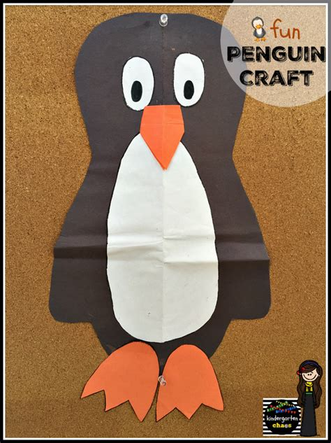 penguin craft projects penguin week in kindergarten kindergarten chaos