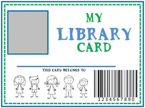 make your own library card 25 best ideas about library cards on