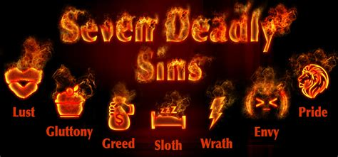 the seven sins what are the seven deadly sins bibleinfo