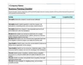 business plan checklist business plan checklist template