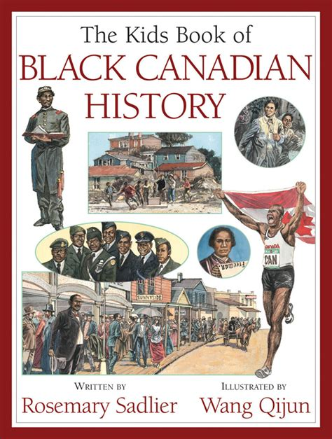 canadian picture books the book of black canadian history can press