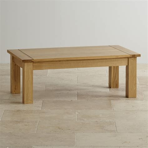 solid coffee tables contemporary coffee table in solid oak oak furniture land