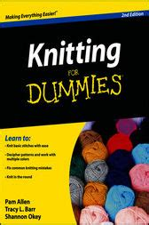 knitting for dummies free knitting for dummies ebook by allen tracy barr shannon