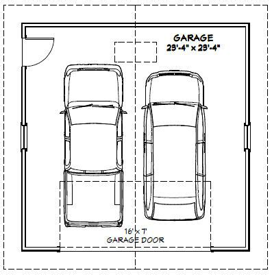 two car garage dimensions dimensions of two car garage 28 images ideal 2 car