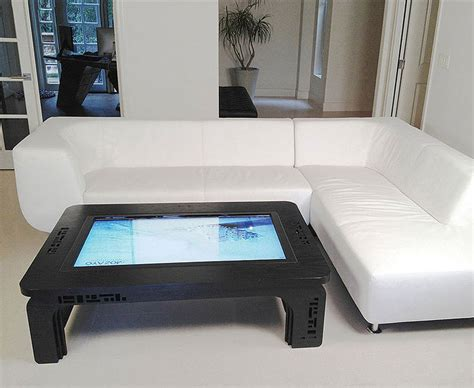touch screen coffee table touchscreen coffee table computer