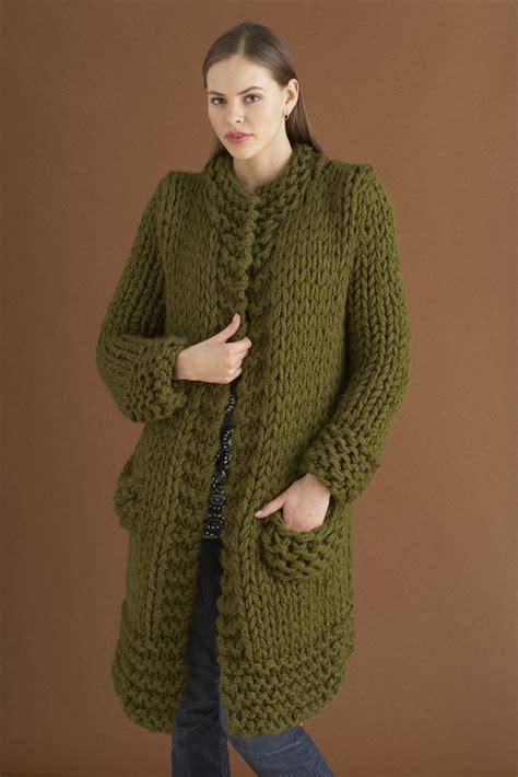 free jacket knitting patterns weekender jacket in brand wool ease thick