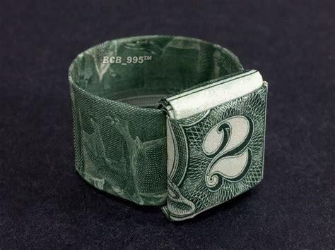 dollar bill ring origami 2 bill origami ring