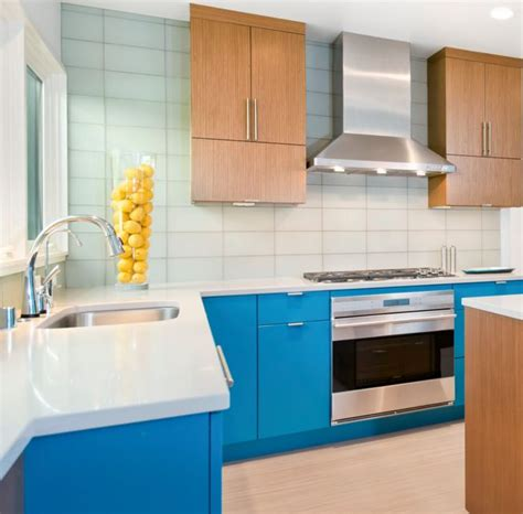 white blue color scheme 20 awesome color schemes for a modern kitchen