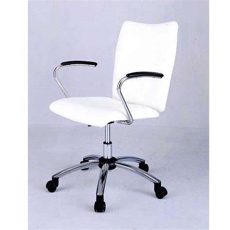 white chair for desk rolling desk chair benefits