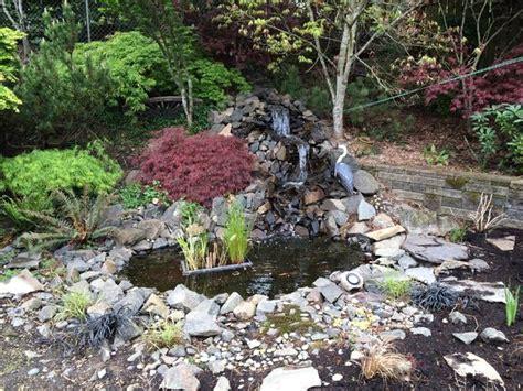 backyard pond ideas with waterfall 40 diy backyard ideas on a small budget
