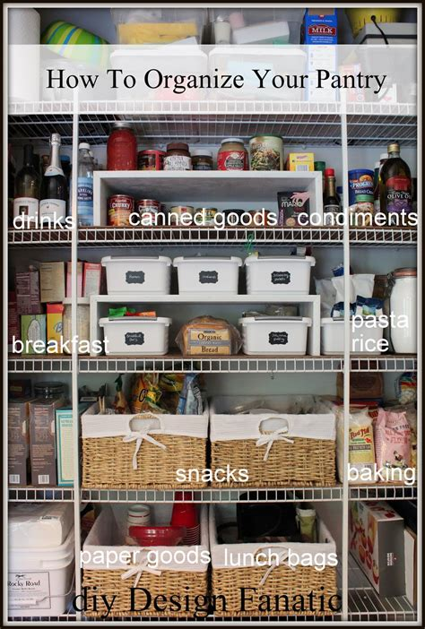 how to organize a pantry diy design fanatic how to organize your pantry