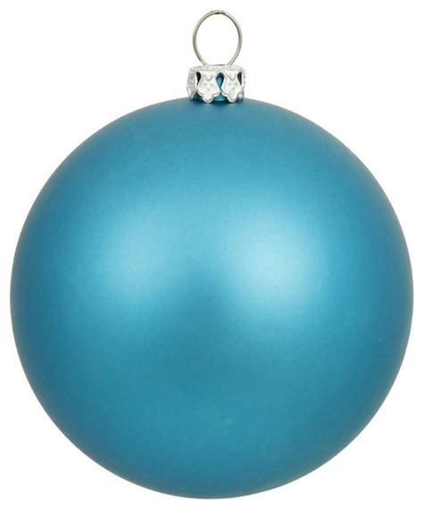 turquoise ornaments for vickerman 10 inch turquoise matte ornament