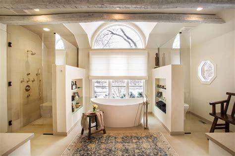 Rustic Spa Bathroom by Master Bathroom Transformed Into A Rustic Spa Retreat